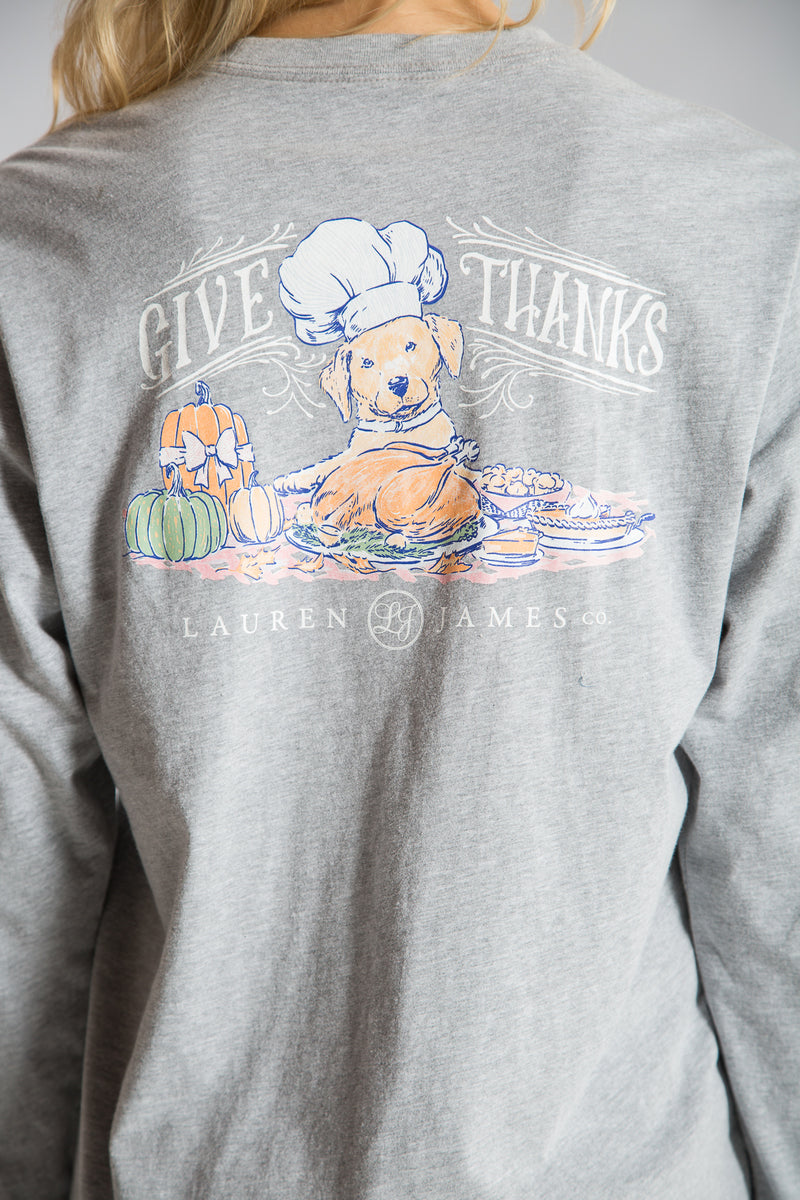Give Thanks Tee L/S - PRE-ORDER