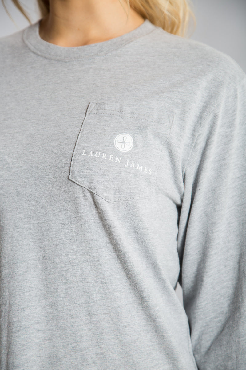 GIVE THANKS CLASSIC TEE L/S