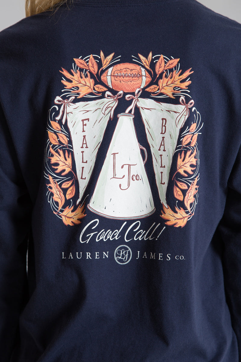 FALL BALL CLASSIC TEE  L/S