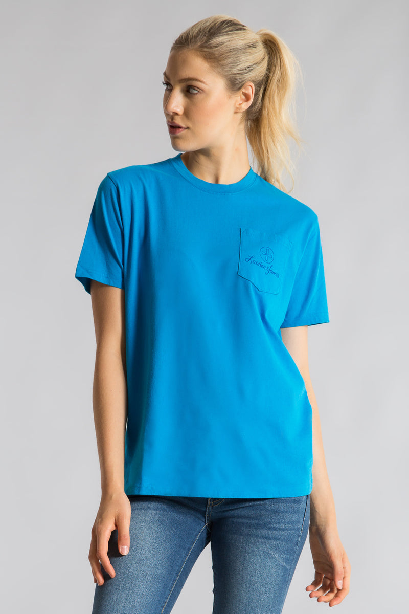 LJ TILE POCKET TEE S/S