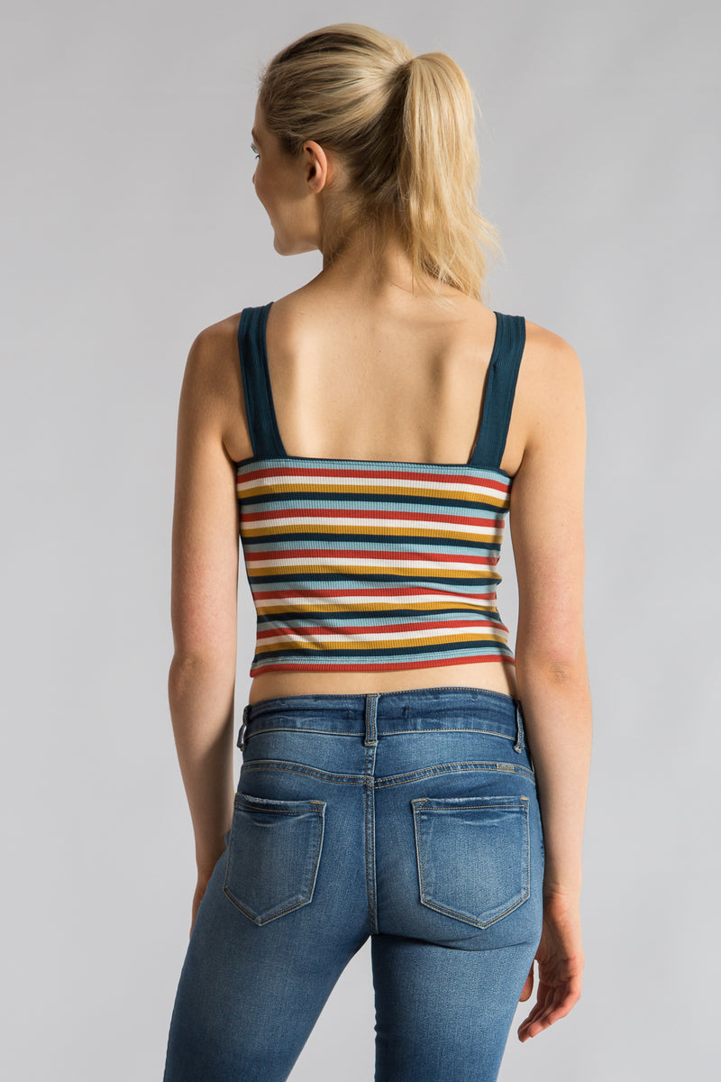 THE STRIPED CAMI