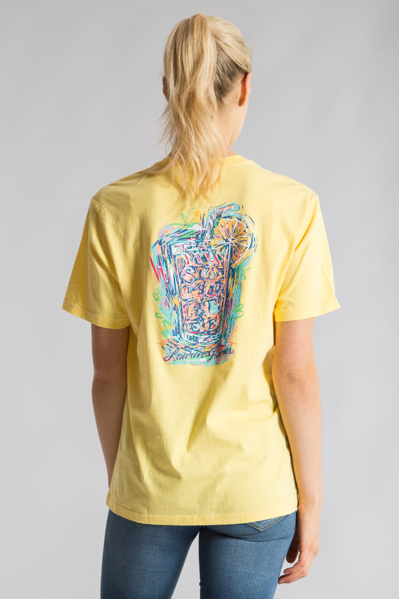 Sweet Tea Abstract Tee S/S