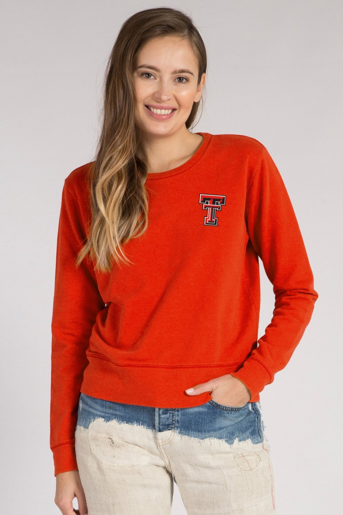Classic Crew Neck Top, Texas Tech University