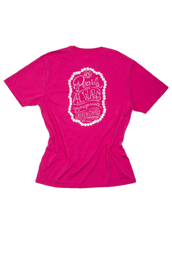 Raspberry-Pearls Are Always Appropriate Sweet Tee S/S-Back 2