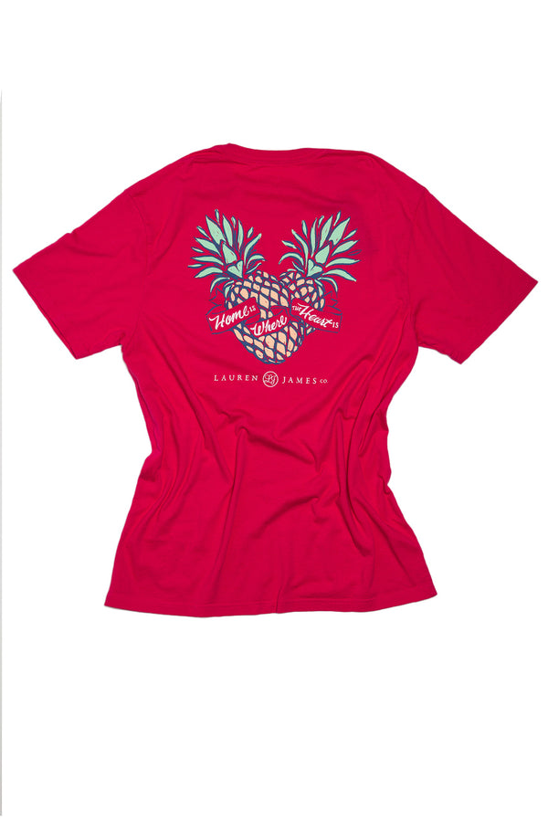 Raspberry - Home Is Where The Heart Is Sweet Tee S/S-Back 1