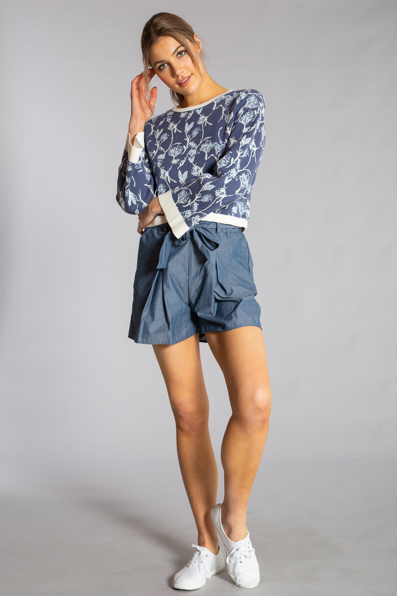 LAUREN PAPERBAG SHORTS