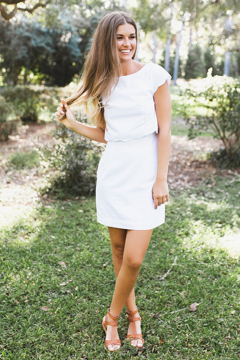 White - The Sullivan Dress - Lifestyle1