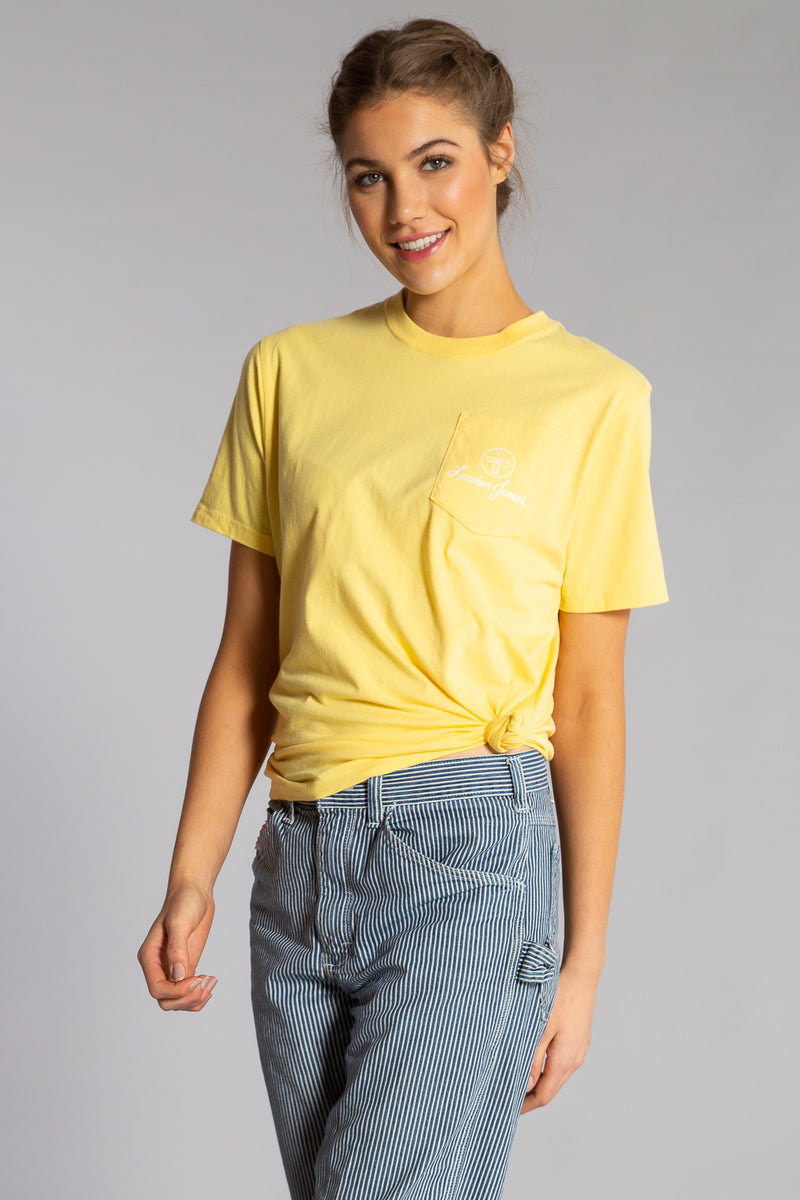 BEE HAPPY POCKET TEE S/S