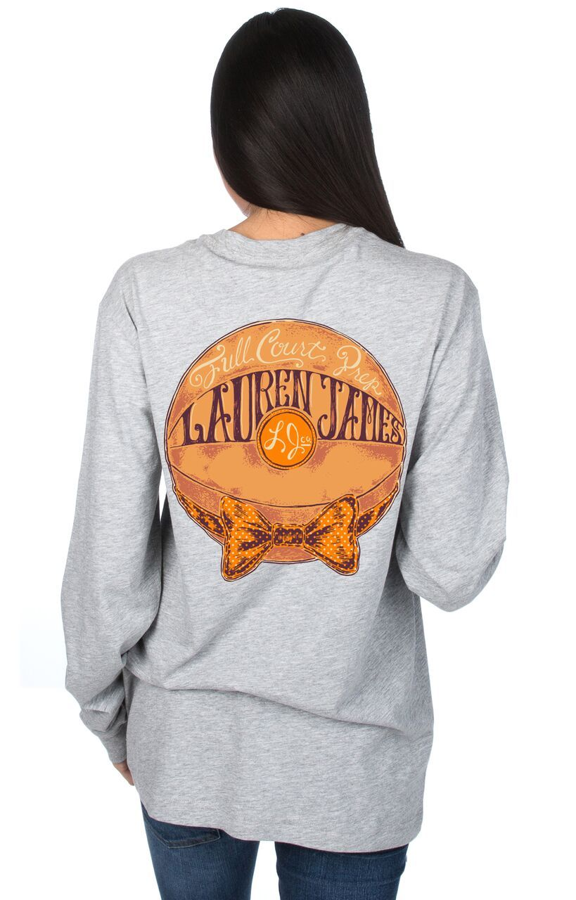 Heather Grey - University of Tennessee Full Court Prep L/S - Front