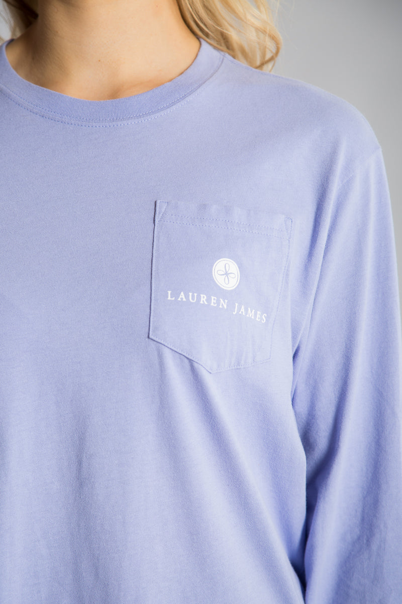 Lilac -Prep My Ride Tee L/S-Front 3