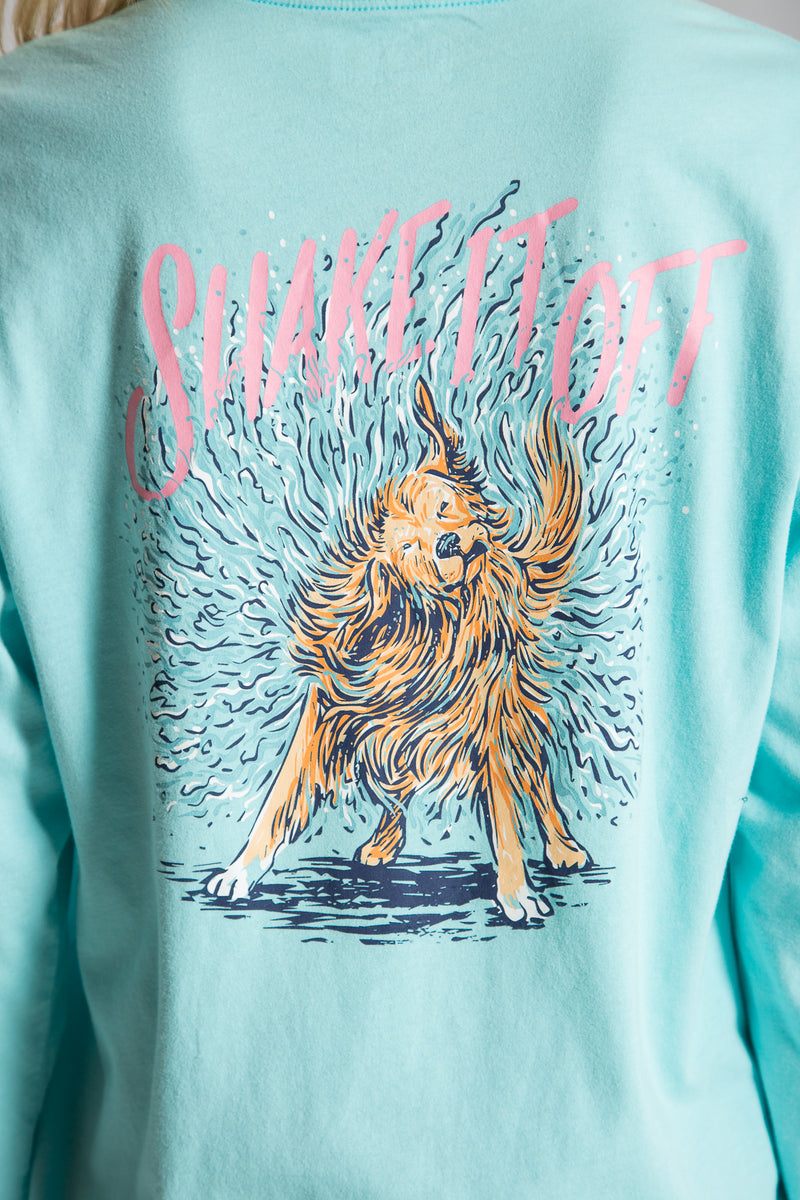 Ocean Palm-Shake It Off Tee L/S- Back 4
