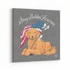 Stay Golden America Canvas