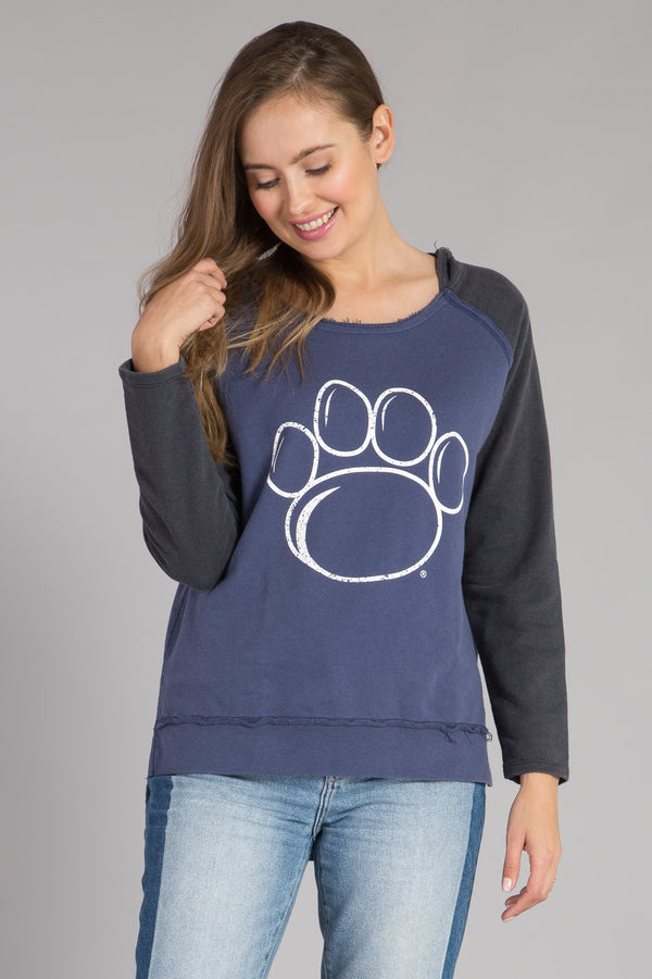 PENN STATE UNIVERSITY HIGH & LOW HOODIE