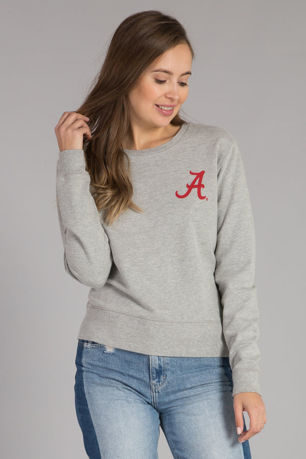 UNIVERSITY OF ALABAMA CREWNECK PULLOVER