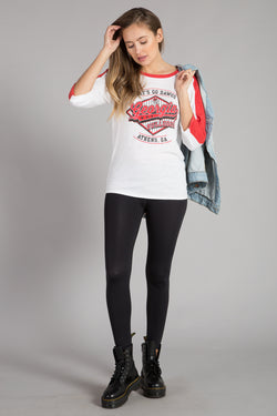 UNIVERSITY OF GEORGIA 3/4 SLEEVE T-SHIRT