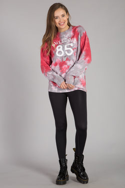 UNIVERSITY OF GEORGIA TIE-DYE PULLOVER