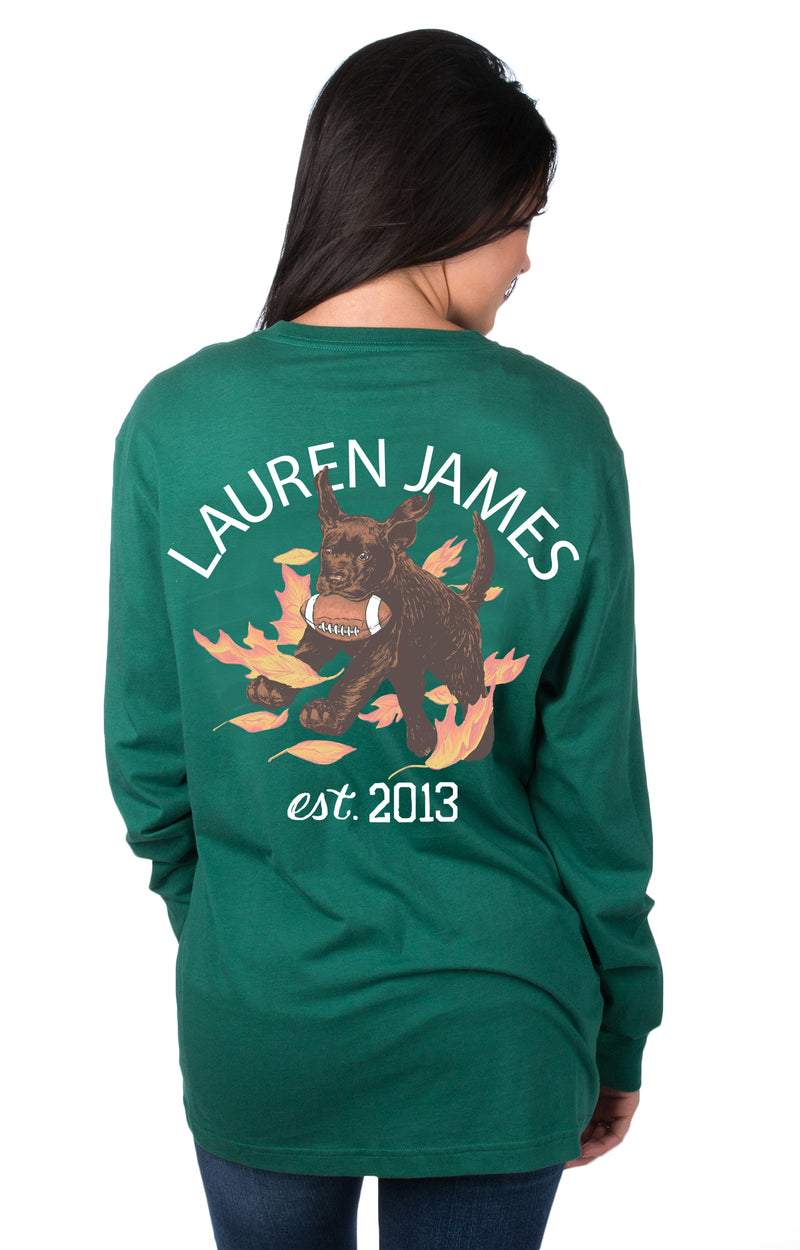 Evergreen - Tough Pup L/S - Front