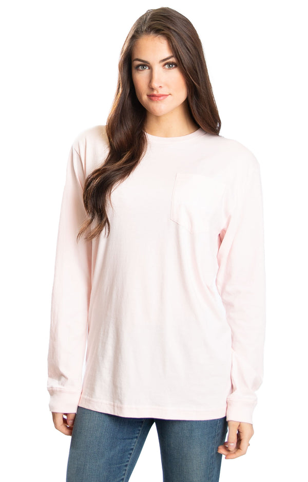Blush - Tough Pup L/S - Back