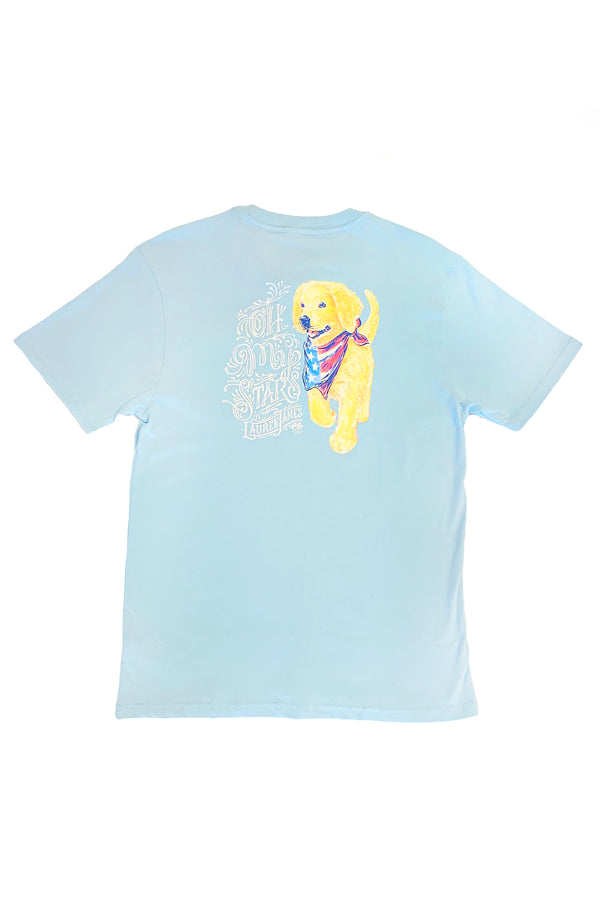 Cool Blue - Oh My Stars - Short Sleeve Front