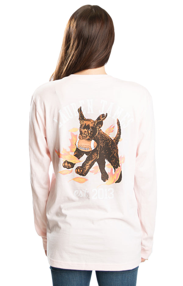 Blush - Tough Pup L/S - Front
