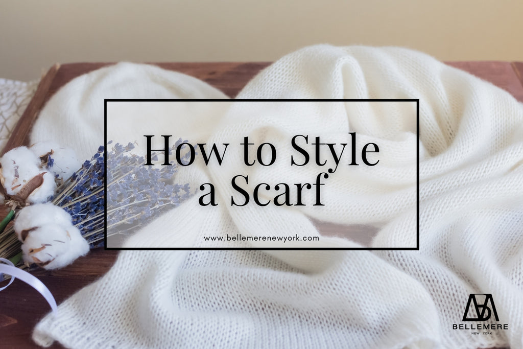 How to Style a Cashmere Scarf