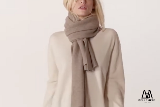 The European Elegance | How to Style a Scarf | Bellemere