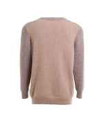 Load image into Gallery viewer, Dual Color Crew-Neck Sweater
