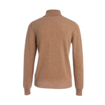 Load image into Gallery viewer, Woolen Cashmere Deep V Turtleneck