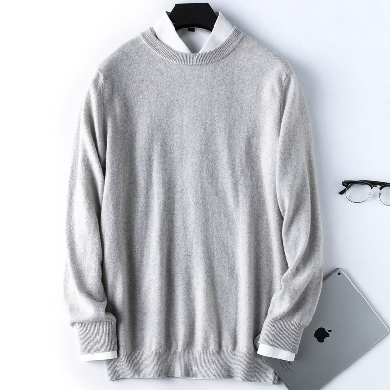 Round Plain Sweater