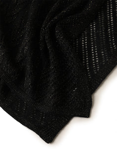 Cashmere Pointelle Scarf