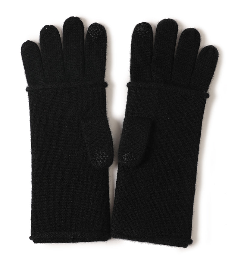 Touchscreen 100% Cashmere gloves