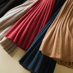Load image into Gallery viewer, Cashmere Pleated Skirt