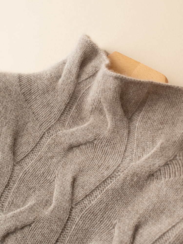Wave Ribbed Sweater