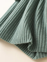 Load image into Gallery viewer, Ribbed A-line Sweater Dress