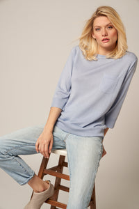 Relaxed Worsted Cashmere Fit Pullover