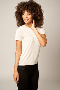 Classic Worsted Cashmere Tee