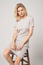 Load image into Gallery viewer, Merino Wool T-Shirt Dress