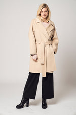 Load image into Gallery viewer, Belted Wool Coat