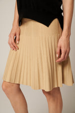 Lade das Bild in den Galerie-Viewer, Pleated A Line Skirt