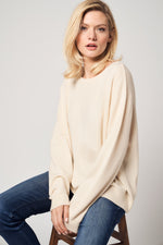 Load image into Gallery viewer, Boatneck Cashmere Sweater