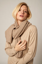 Load image into Gallery viewer, Classic sharp print Cashmere Scarf