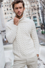 Load image into Gallery viewer, Knitted Turtleneck Sweater