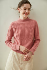 Load image into Gallery viewer, Woolen Cashmere Loose-fit Sweater