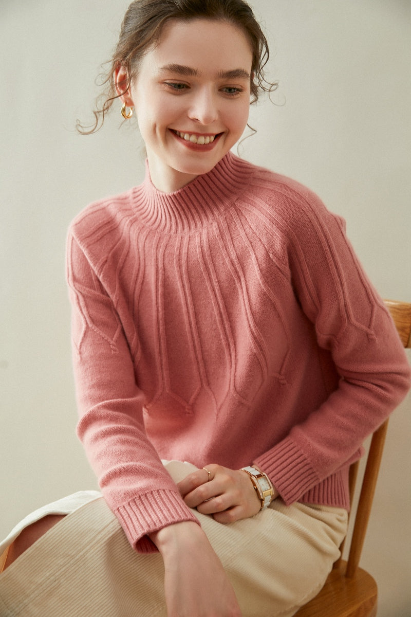 Woolen Cashmere Loose-fit Sweater