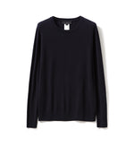 Load image into Gallery viewer, 100% Worsted Cashmere Crew Neck Sweater