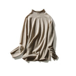 Load image into Gallery viewer, Rolled Neck Cashmere Pullover