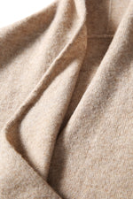 Lade das Bild in den Galerie-Viewer, Mock Wrap Cashmere Sweater