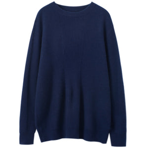 100% Cashmere Ribbed Sweater