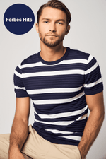 Lade das Bild in den Galerie-Viewer, Striped Silky Tee