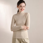 Load image into Gallery viewer, Cashmere Mock-Neck Sweater